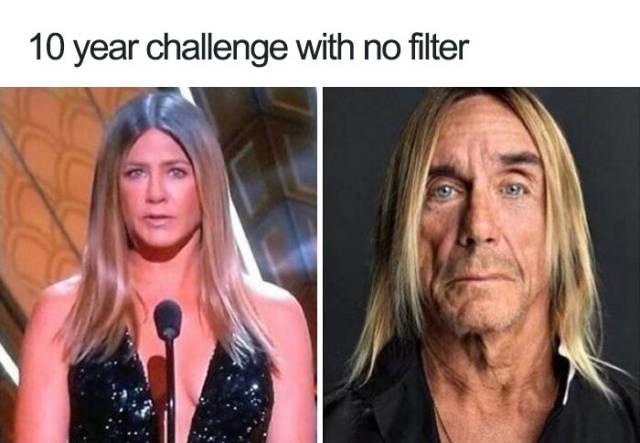 #10yearchallenge : 10-Year Challenge Memes (32 Pics)