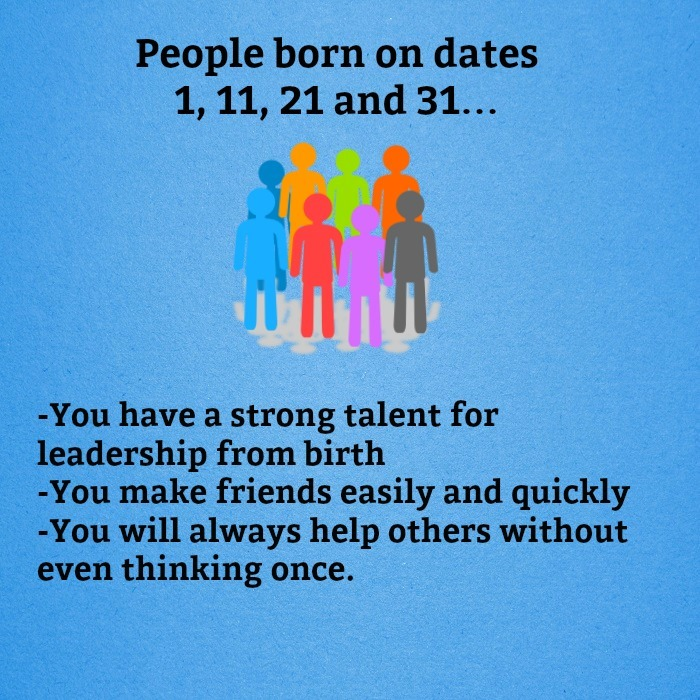See what your birth date says about you