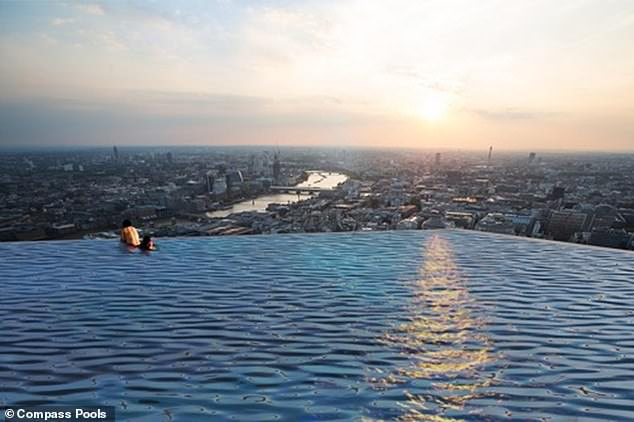 World's first 360-degree infinity pool