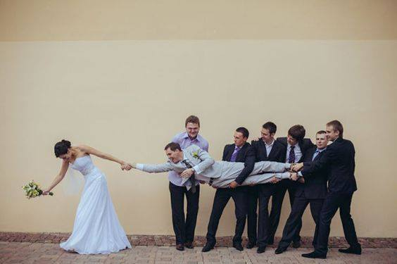 The Craziest and Most Creative Wedding Photos Ever (41 Pics)