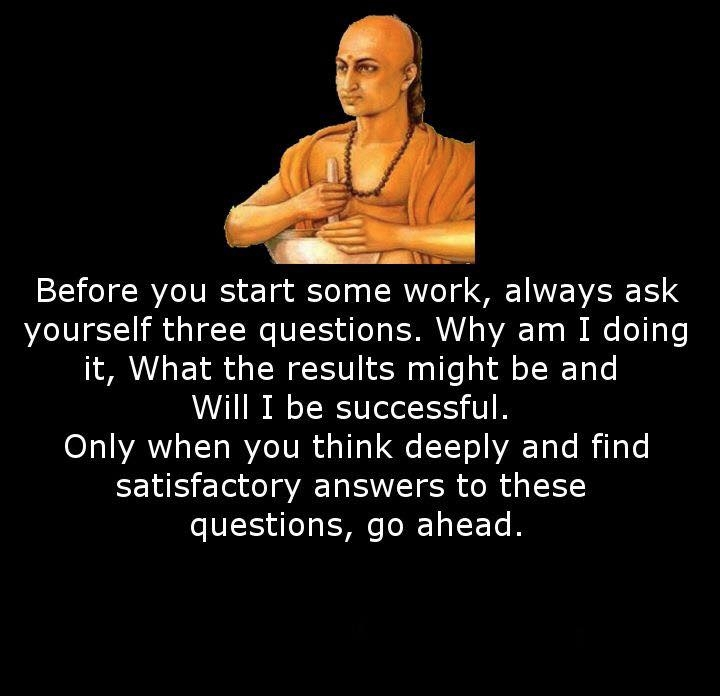 Chanakya Quotes - (14 Quotes)