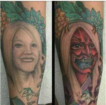 Best Cover Up Tattoos - (12 Pics)