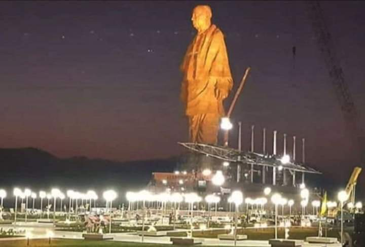 Statue Of Unity: India Unveils The World's Tallest Statue