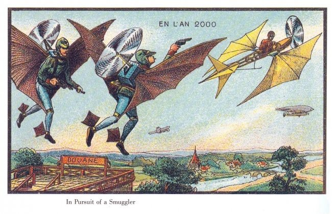 What People 100 Years Ago Thought Life Would Be Like Today! (20 Pics)