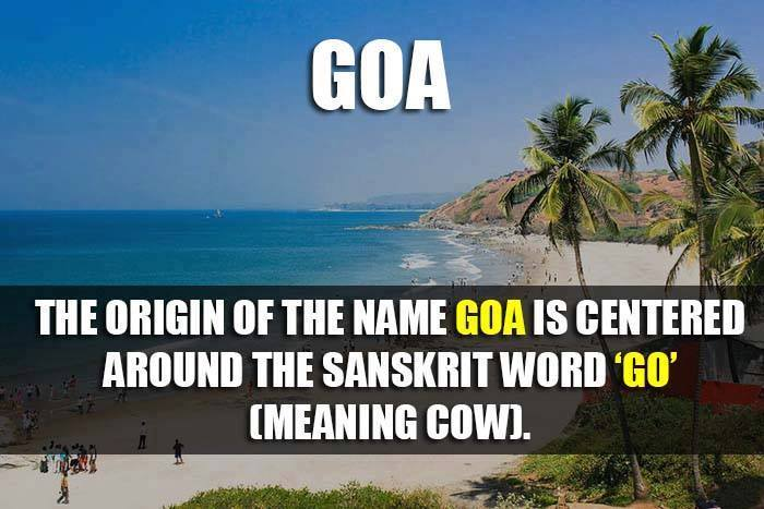 Origin of Names Of 29 Indian States