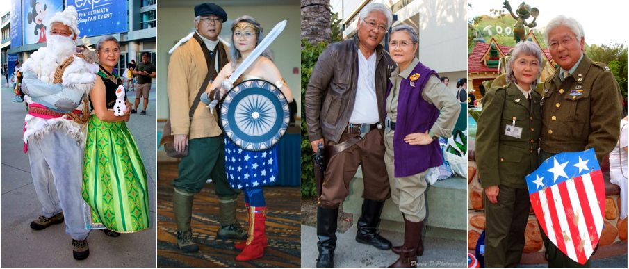 Internet Sensation - Retired couple that cosplays together is the very definition of relationship goals
