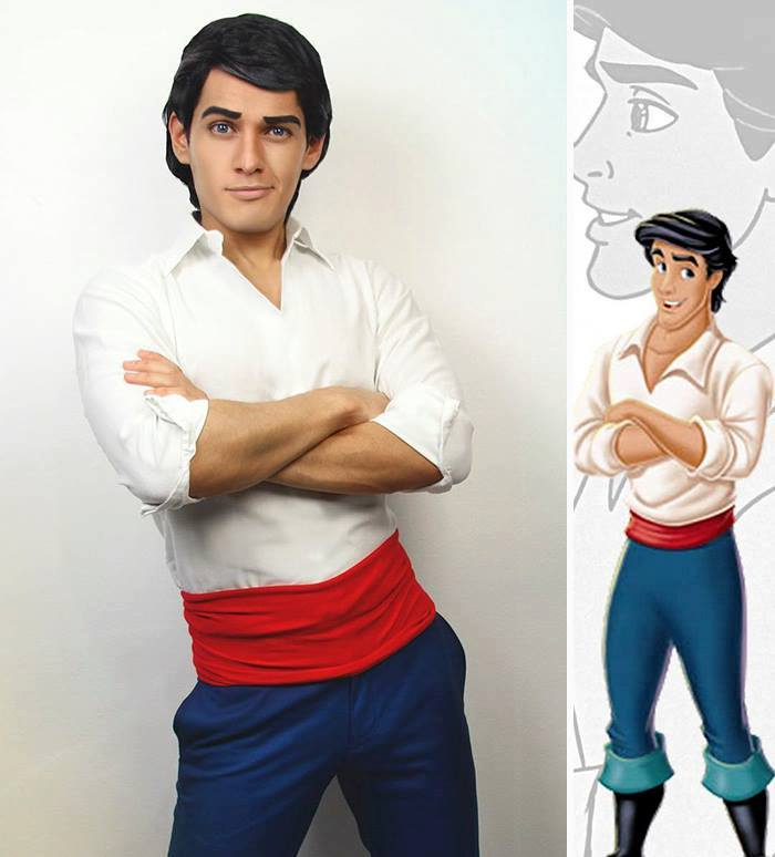 Cosplayer Jonathan Stryker Can Turn Himself Into Any Disney Character