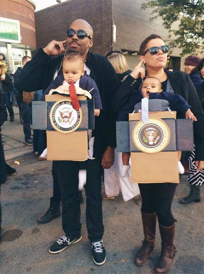 Genius Halloween Costume Ideas For Parents With Baby Carriers (26 Pics)
