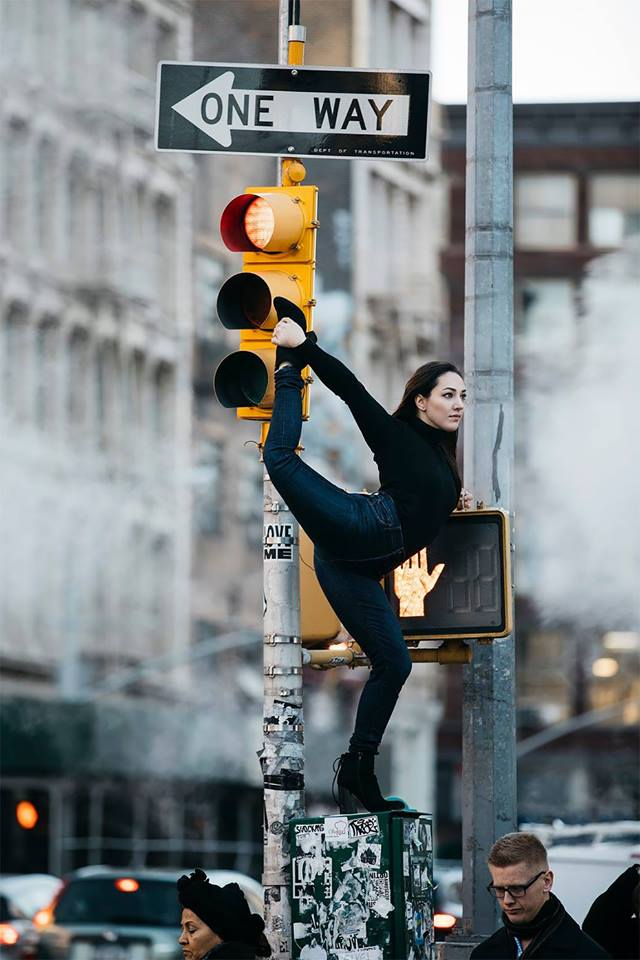 Graceful Dancers Practicing Out In The City Streets Captured By Melika Dez