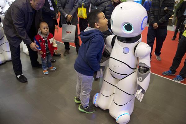 World Robot Exhibition in Beijing