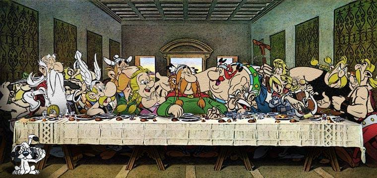 When Famous Cartoon Characters Are Inserted Into Classical Paintings (30 Pics)