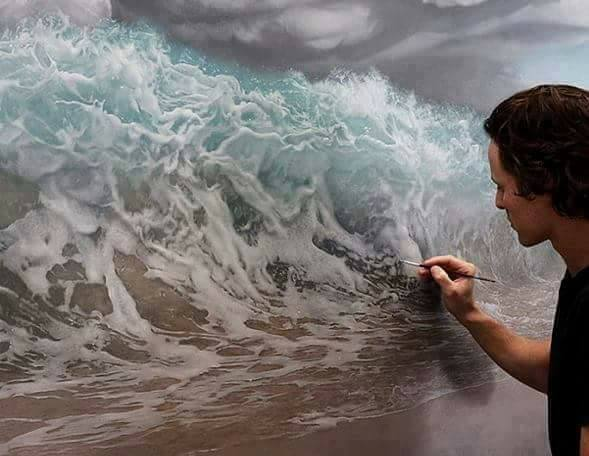 Amazing ART - Believe Me it's A Painting (18 Pics)