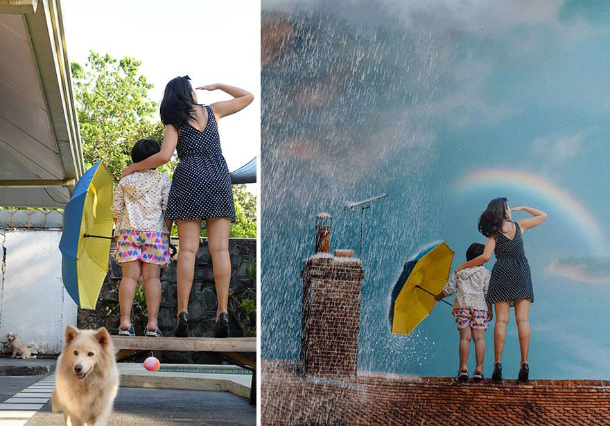 Amazing Before and After Photography - (18 Pics)