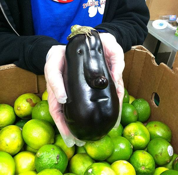 Fruit And Vegetables That Look Like Humans (20 Pics)