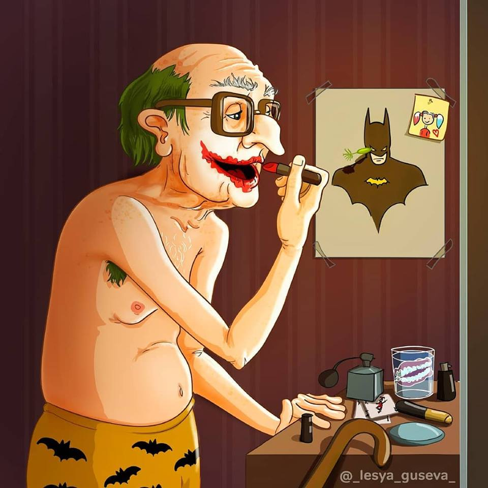 Russian Artist Portrayed Retired Superheroes! (15 Pics)