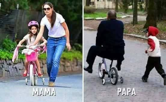 The Difference Between Mother and Father in 5 Pics!