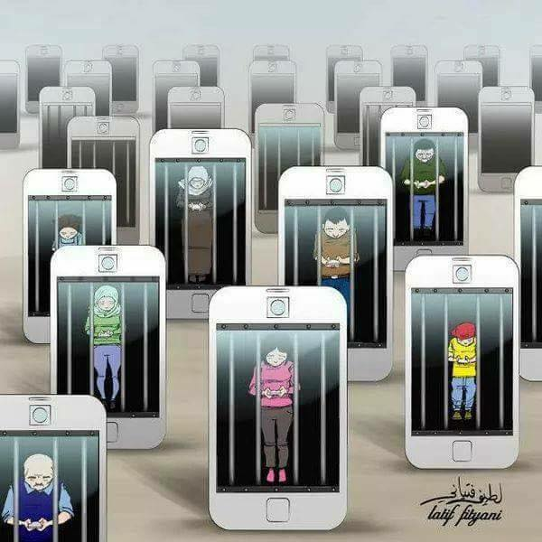 Have we become slaves to technology.? (30 Pics)