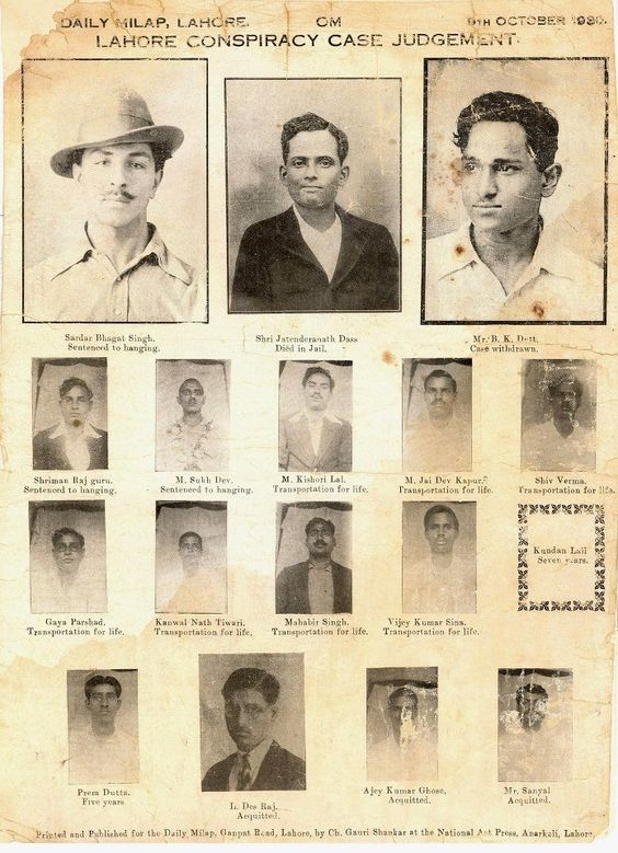 Rare Photos Of Indian Freedom Fighters