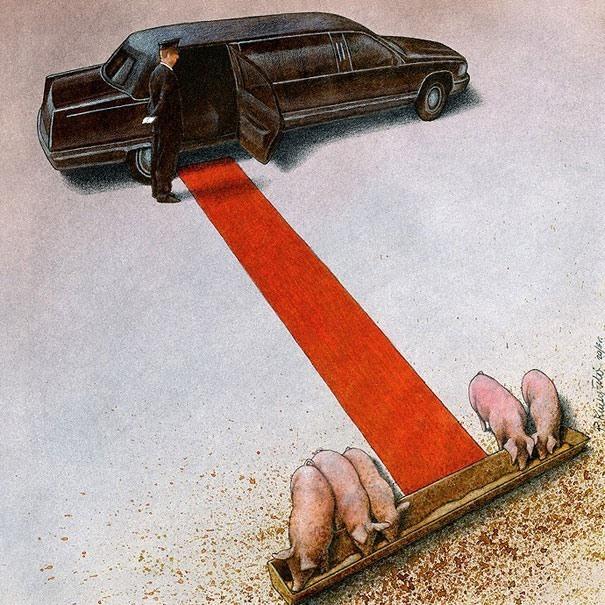 20 New Thought-Provoking Satirical Illustrations By Pawel Kuczynski