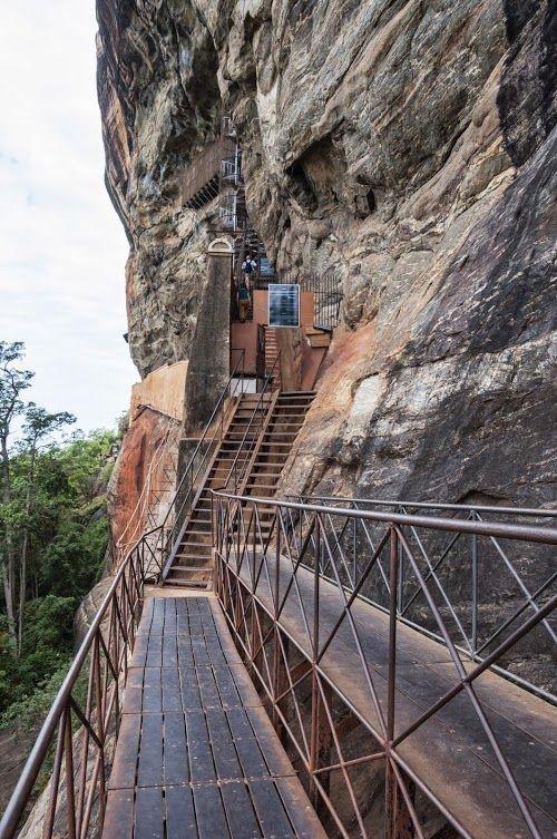 Sigiriya - The Ancient Kingdom Built On The Lion Rock In Srilanka