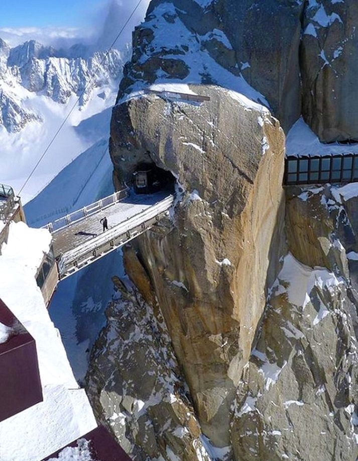Most Amazing Aiguille du Midi in France