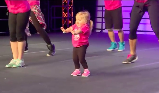 This 6-Year-Old Girl With a Rare Disease Will Stun You With Her Dance Moves