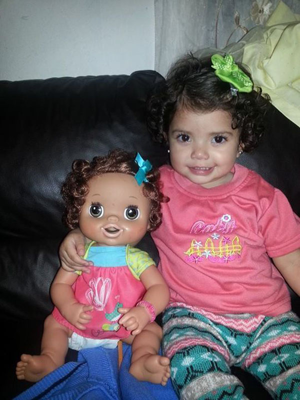 14 Babies Who Look Just Like Their Dolls