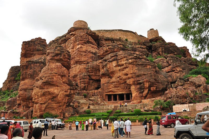 Badami cave temples - Amazing Ancient Rock Cut Temples