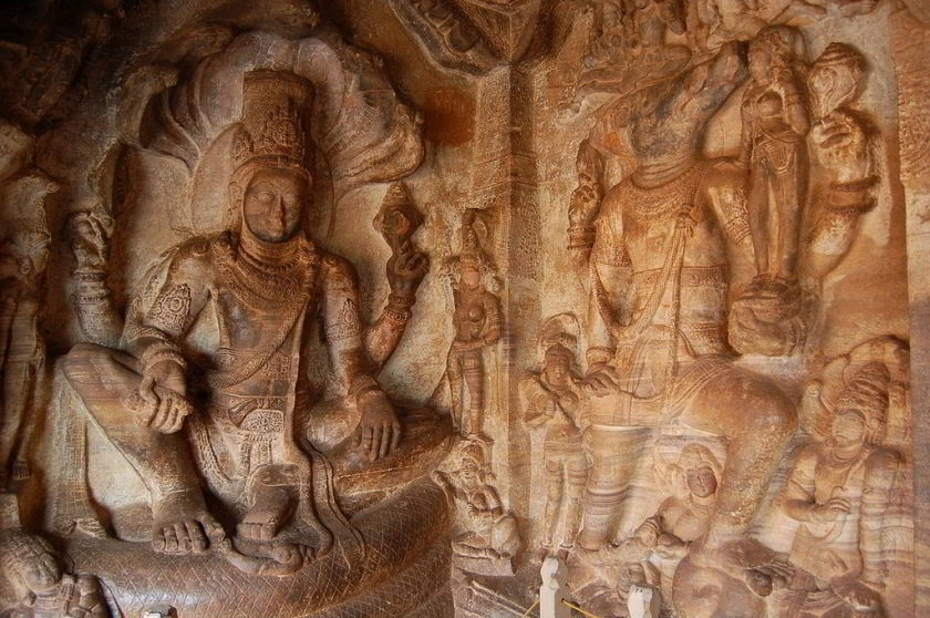 Badami cave temples - Amazing Ancient Rock Cut Temples