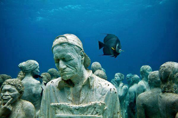 Spectacular Cancun Underwater Museum in Cancun, Mexico