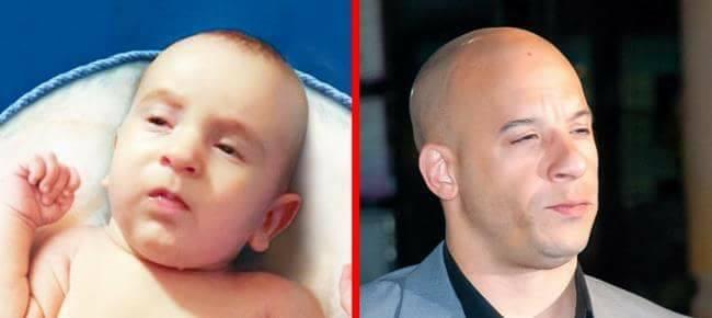 12 Babies Who Look Like World-Famous Celebrities