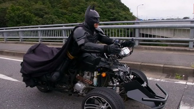 Meet Japan's Batman - Chibatman a real life Dark Knight