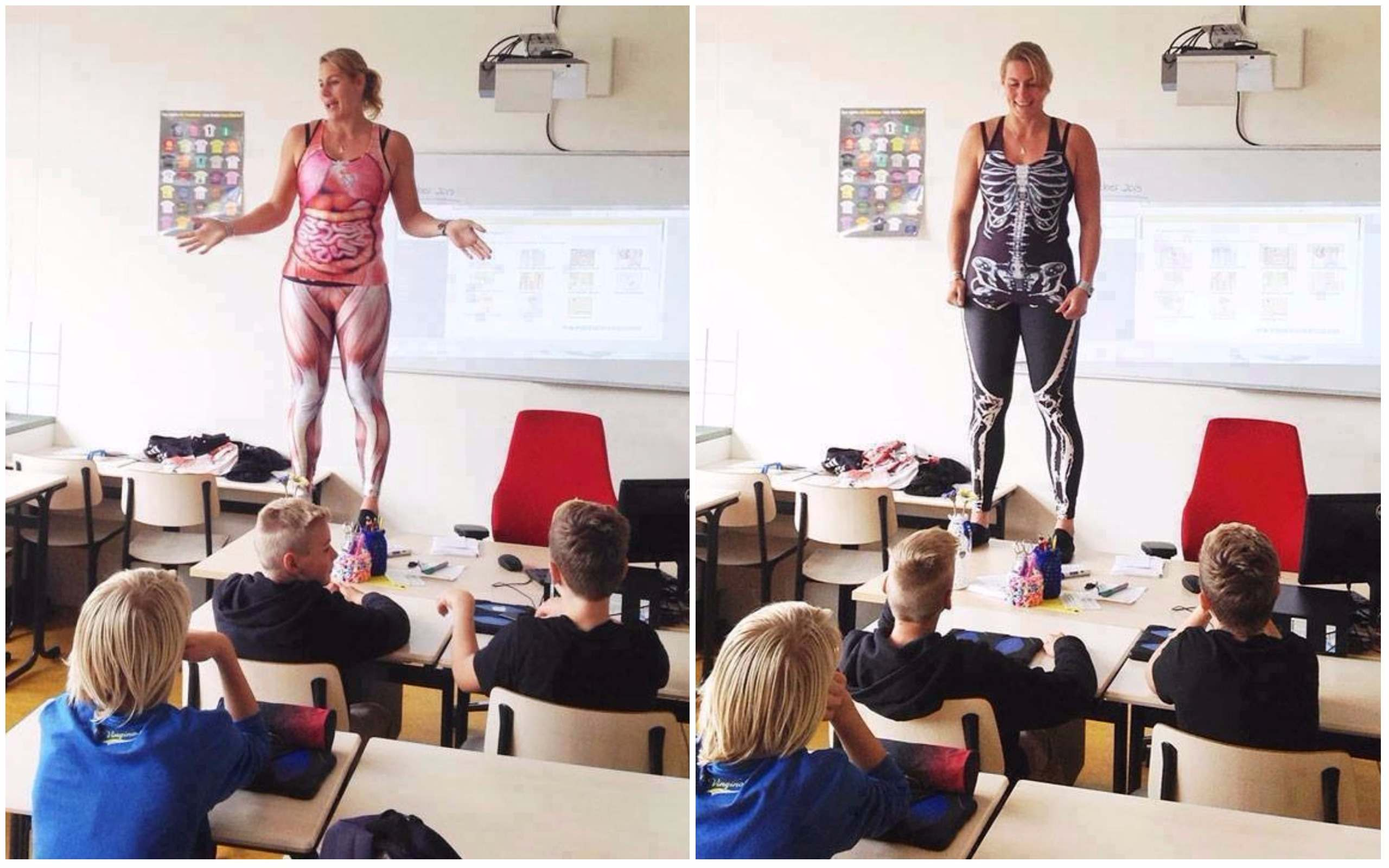 This Biology Teacher Uses Own Body To Teach Anatomy