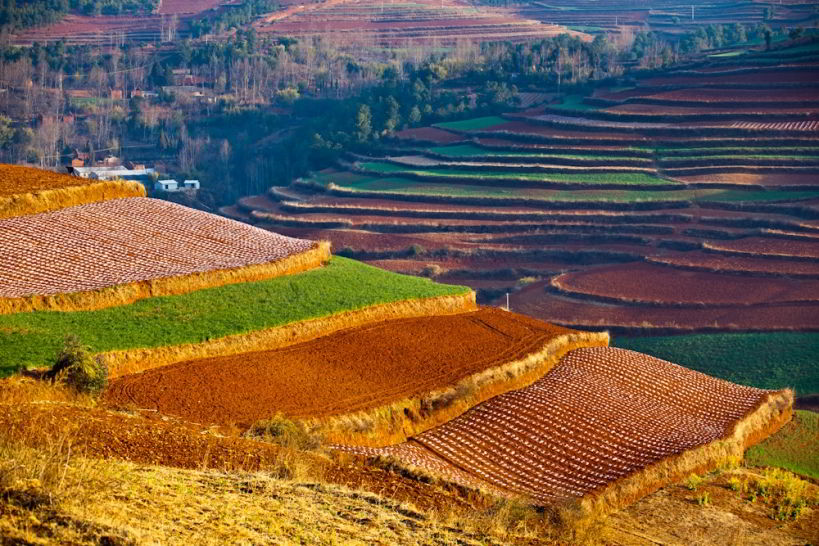 'Dongchuan District' - China's Largest and Most Beautiful Red Land