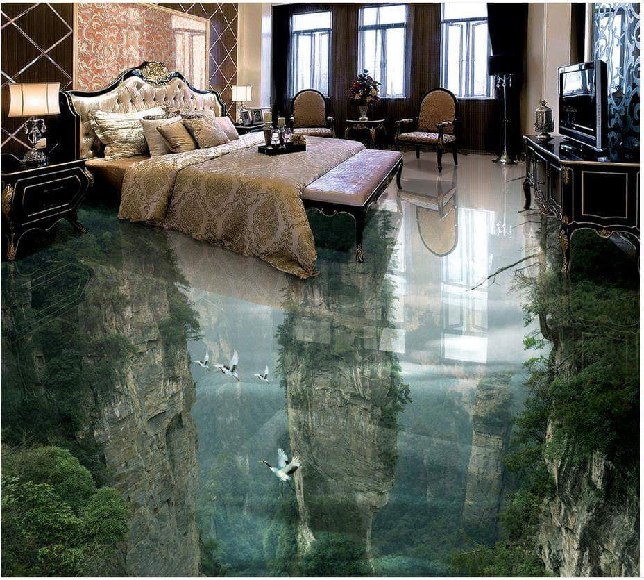3 D Floors: 18 amazing designs to remodel the floors of your house
