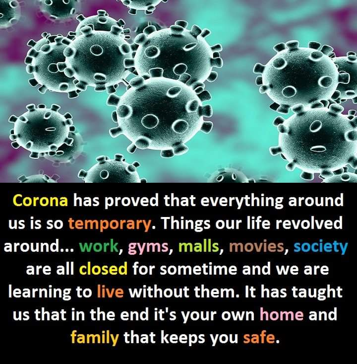 WORLD (LIFE) After #Corona