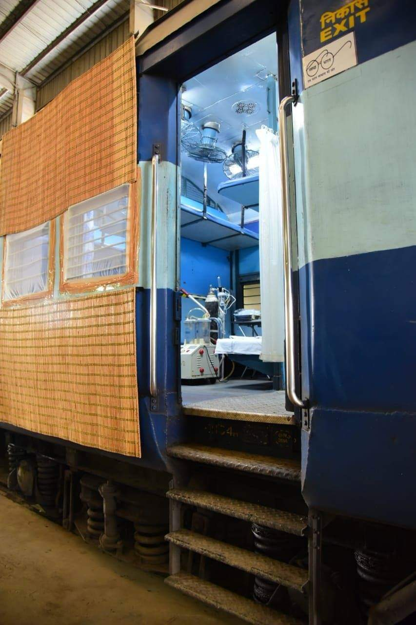 #Corona Times - Indian Railways Transformed into Isolation Wards