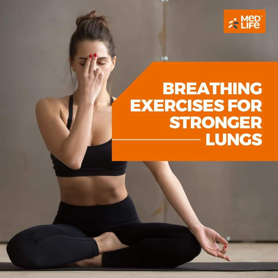 Simple Breathing Exercises For Healthy Lungs! | #Corona Times