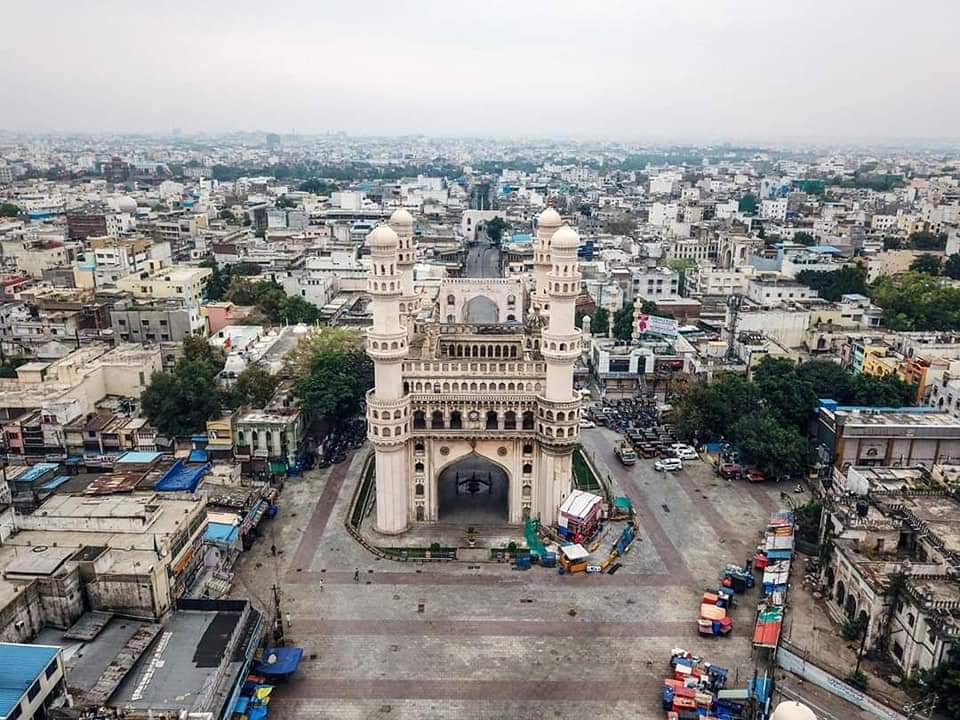Hyderabad City During The Lockdown