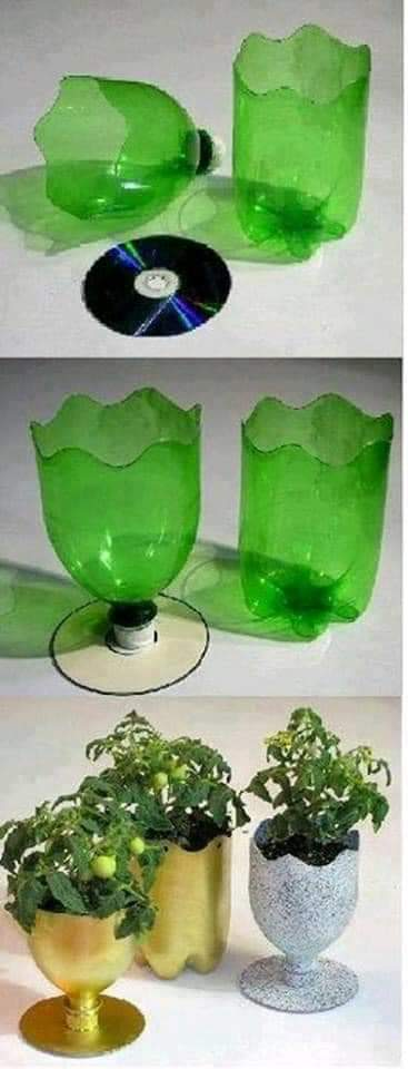 Great inventions made with plastic bottles (30 Pics)