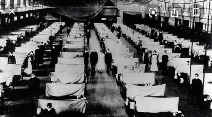 The Photo's Of 1918 Flu Pandemic, So relatable in 2020!