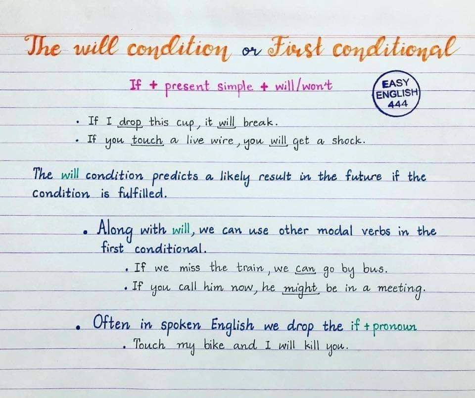 English Lessons- English Handwriting Notes! (19 Pics)