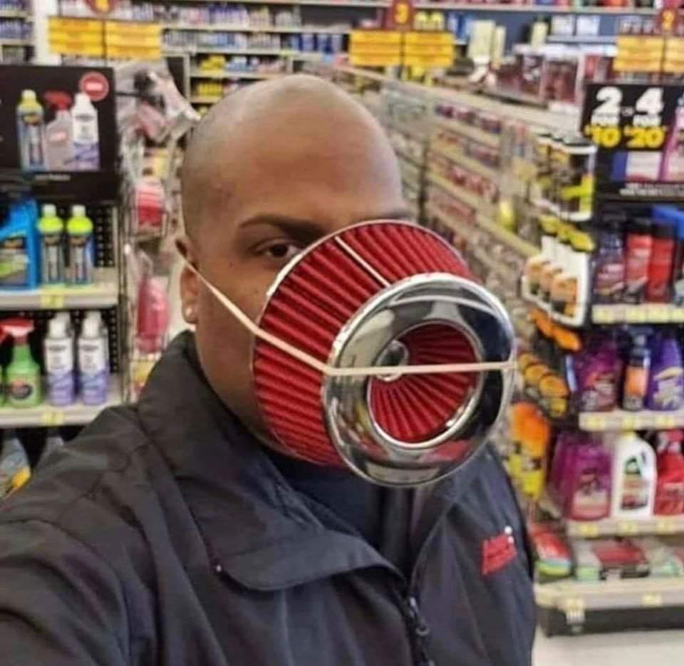 Weird Yet Creative Masks (10 Pics)