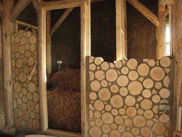 Amazing Cordwood House Construction (15 Pics)