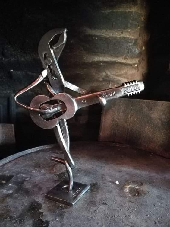 Amazing Scrap Metal Art (15 Pics)