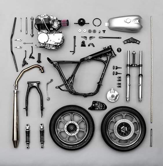 The Components Of A Motorcycle (10 Pics)