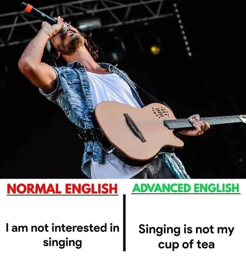 Normal English vs Advanced English (5 Pics) | English Lessons