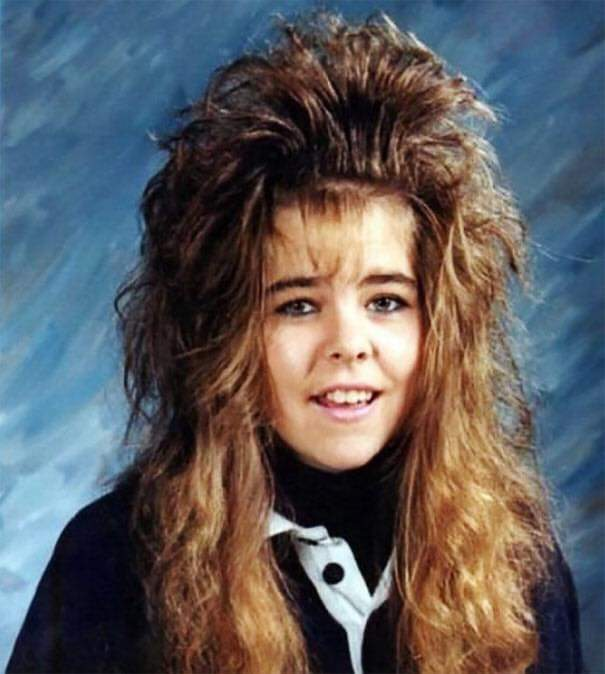 Hilarious Childhood Hairstyles From The '80s And '90s (50 Pics)