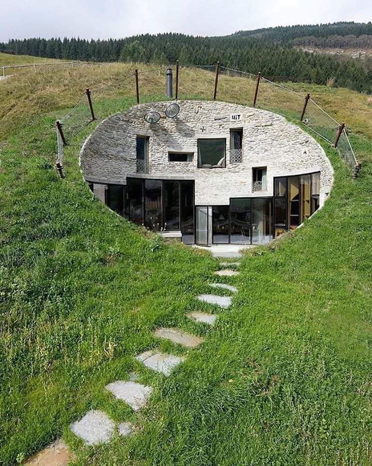 A home that's truly one with nature  Vals, Switzerland