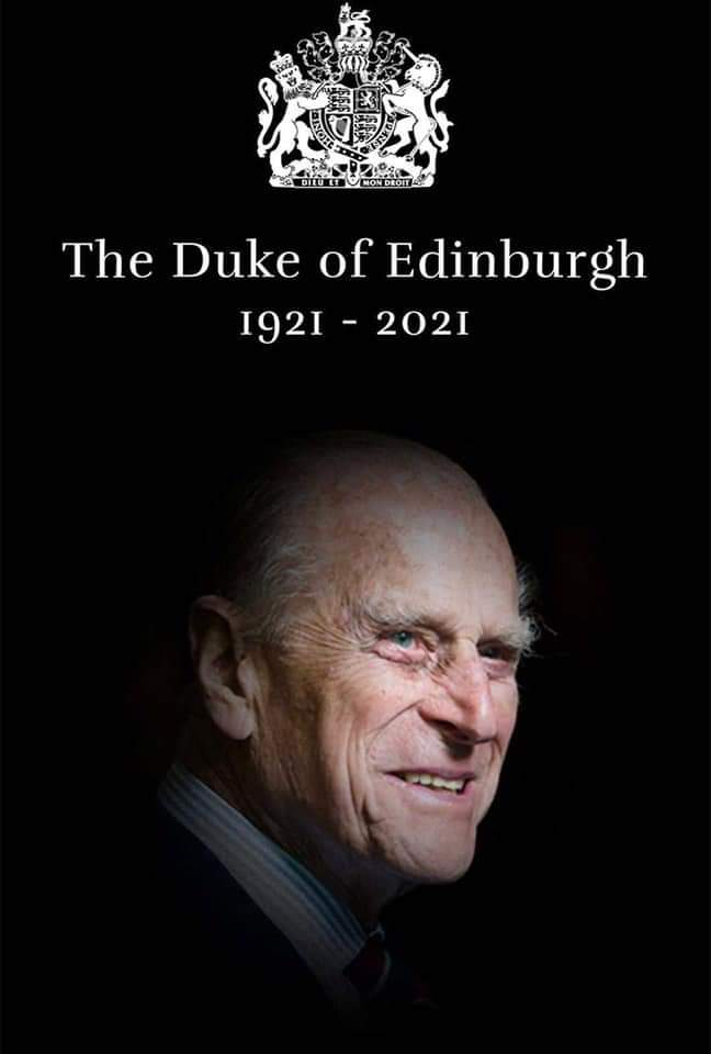 R.I.P  Prince Philip, the Duke of Edinburgh